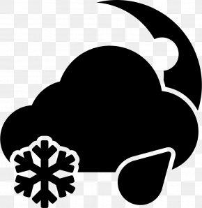 Atampt Ornament - Rain And Snow Mixed Snowflake Winter Storm Warning PNG