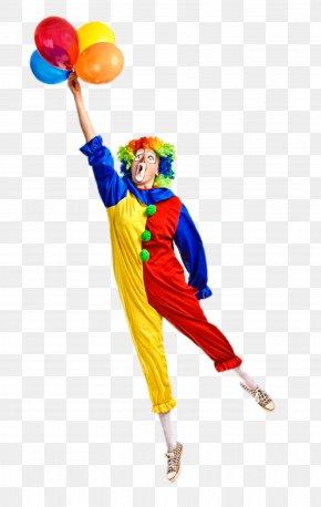 Take The Balloon's Clown - Clown Joke Icon PNG