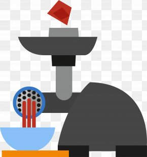 Cartoon Meat Grinder - Meat Grinder Horse Meat Ground Meat PNG