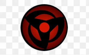 Kakashi Blood Eye - Logo Sharingan Naruto Font PNG