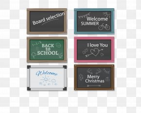 Chalkboard Color Colors - Euclidean Vector Blackboard PNG