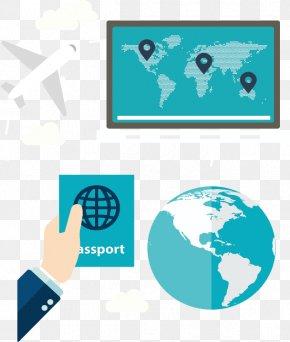 World Travel Passport - Iraqi Passport Euclidean Vector Icon PNG
