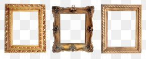 Gray Frame - Picture Frames Work Of Art PNG