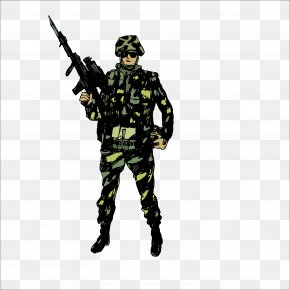 Soldier - Military Soldier Drawing Clip Art PNG