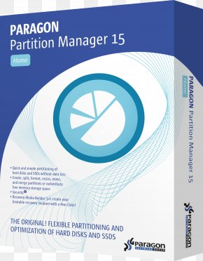 Paragon - Paragon Partition Manager Paragon Software Group Disk Partitioning Hard Drives Computer Software PNG