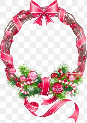 Vector Christmas Border - Christmas Decoration Christmas Ornament Clip Art PNG