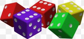 Dice Clipart - Dice 30 Seconds Gambling Clip Art PNG