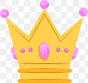 Cartoon Lovely Princess Crown - Princess Crown Clip Art PNG