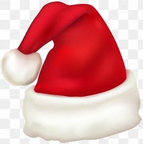 Large Santa Hat Clipart - Santa Claus Hat Clip Art PNG