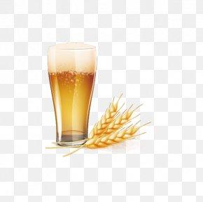Vector Yellow Beer Icon - Wheat Beer Baijiu Euclidean Vector PNG