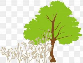 Cartoon Tree Grass - Tree Euclidean Vector Clip Art PNG