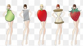 Body - Female Body Shape Human Body Hourglass Figure Waist PNG