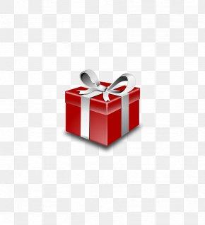 Red Gift Box - Christmas Gift Christmas Gift Clip Art PNG