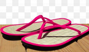 A Pair Of Sandals - Slipper Flip-flops Stock Photography Sandal Royalty-free PNG