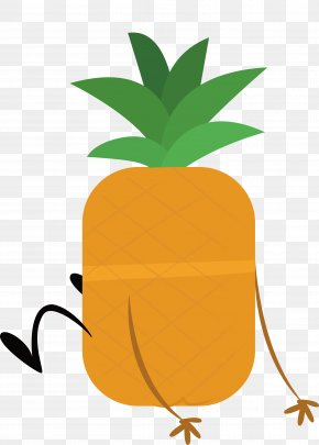 The Confused Pineapple - Pineapple Drawing PNG