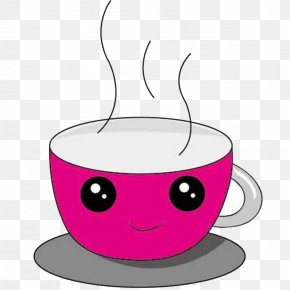 Smile Cup - Coffee Cup Smile Clip Art PNG