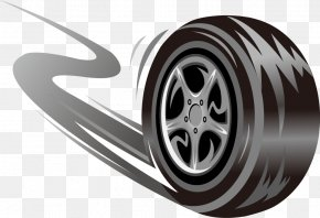 Wheel Tires - Car Tire Wheel Skid Mark PNG