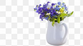 White Vase - Morning Hindi Quotation E-card Greeting PNG