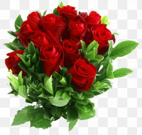 Bouquet Of Flowers - Rose Flower Bouquet Clip Art PNG