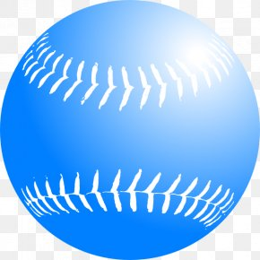 Navy Softball Cliparts - Softball Baseball Clip Art PNG