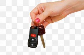 Hand Car Keys - Car Dealership Mazda RX-7 Key Driving PNG