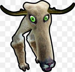 Creative Ostrich - Cattle Goat Horse Horn Antelope PNG