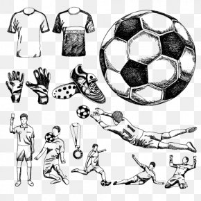 Football - Football Drawing Stock Photography Illustration PNG