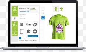 T Shirt Printing Design - Printed T-shirt Clothing Design Tool PNG