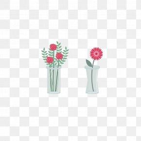 Vase Floral Design Vector Material - Floral Design Flower Bouquet PNG