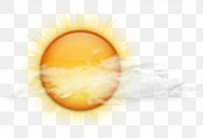 Clouds And Sun Weather Forecast - Weather Forecasting Storm Cloud PNG