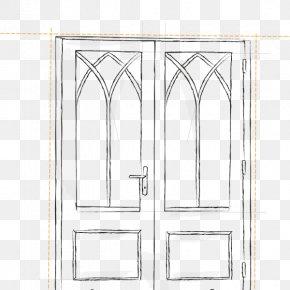 House - Door Handle House Furniture Line Art PNG