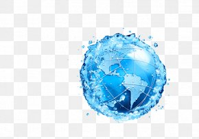 Whater Skateboard - Recycling Symbol Water Conservation Stock Photography PNG
