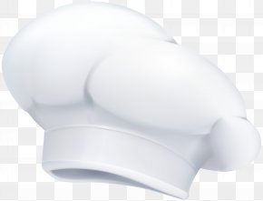 Chef Hat Transparent Clip Art Image - White Product Angle Design PNG