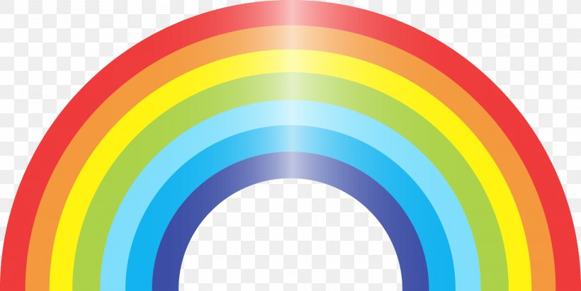 Rainbow Euclidean Vector, PNG, 2000x1004px, Rainbow, Cartoon, Dash, Product, Product Design Download Free