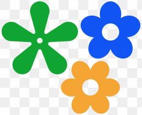 Hippie Art Cliparts - Flower Petal Clip Art PNG