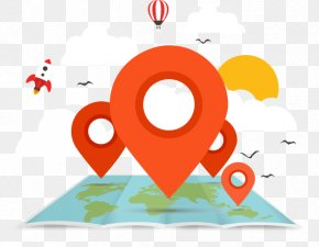 Map With Landmarks Vector Material Downloaded, - Aurangabad Toronto Location Business Map PNG