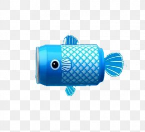 Blue Jar Fish - Blue JAR PNG