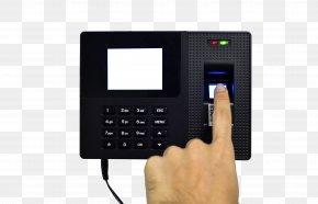 Fingerprint Punch Card Fingerprint To Unlock Figure - Fingerprint Image Scanner Biometrics Access Control Time And Attendance PNG