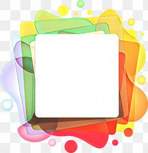 Picture Frame Text - Background Color Frame PNG