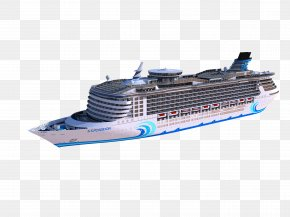 Ships And Yacht - Cruise Ship Clip Art PNG