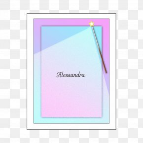 Sixteen Invitation - Picture Frames Pink M Rectangle Font PNG