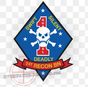 1st Symbol - 1st Reconnaissance Battalion United States Marine Corps 1st Marine Division PNG
