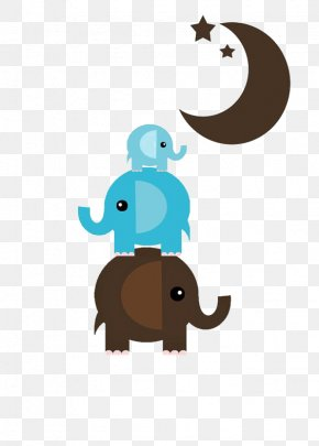 Cartoon Baby Elephant - Elephant Infant Diaper PNG