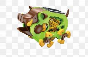 Wild Boar - OWI Solar Wild Boar Bulding Model Kit Solar Energy Robot Kit Toy PNG