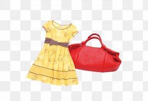Pretty Dress,bag - Dress Skirt PNG