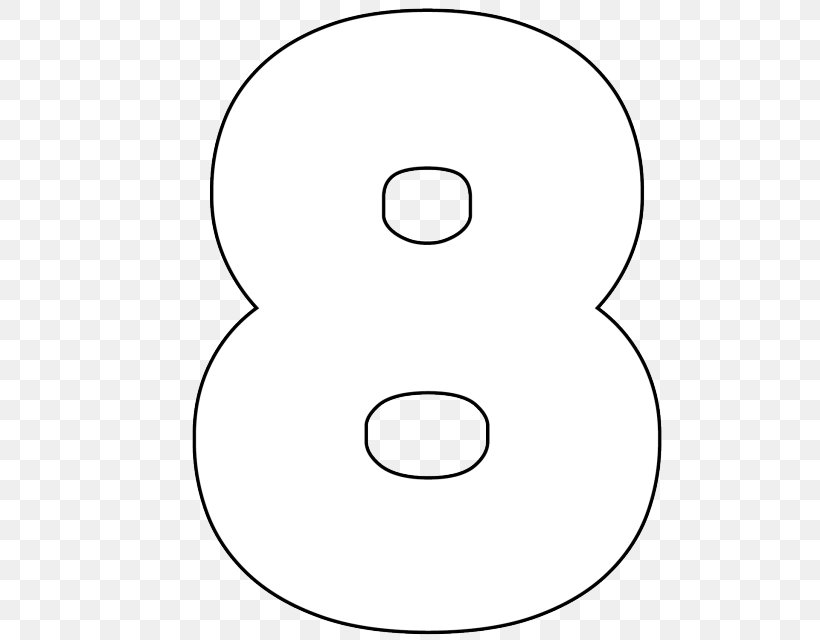 Numerical Digit Large Numbers Stencil Mathematics Png 640x640px Numerical Digit Area Black And White Cardmaking Digital