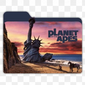 Planet Of The Apes - Dr. Zaius Planet Of The Apes George Taylor Film Art PNG