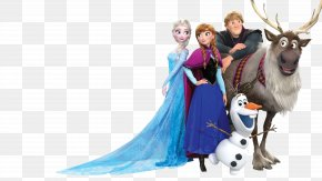 Frozen - Elsa Kristoff Anna Olaf Film PNG
