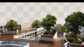 Balcony View - Landscape Architecture Garden PNG