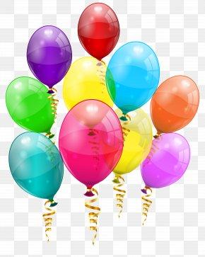 Pink Balloon - Birthday Balloon Clip Art PNG